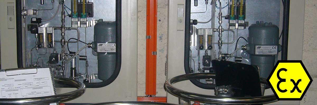 Analyse oxygène ADEV 8864 zircone dans Helium