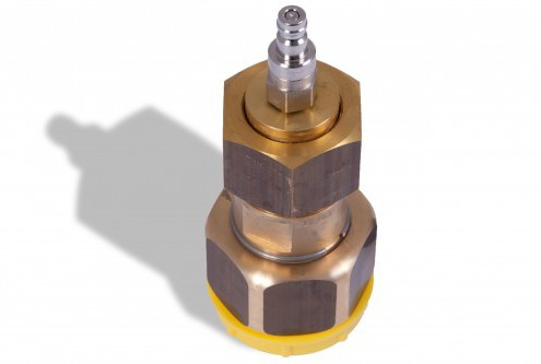 SF6 coupling DN20 with quick coupling (Rectus)