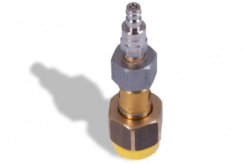 SF6 coupling DN8 with quick coupling (Rectus)