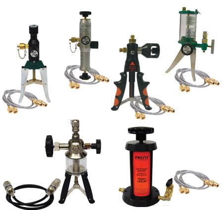 Pompes de calibration de pression hydrauliques & pneumatiques