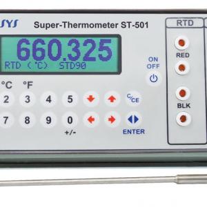 indicateur de température, étalon de précision, thermocouple, RTD